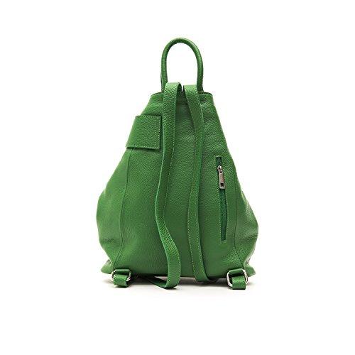 Trussardi Collection Damen Rucksack Tasche Grün