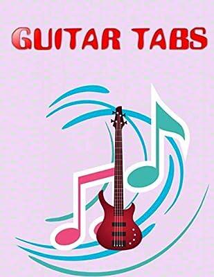 Blank Guitar Tabs: Under The Bridge Guitar Tabs Size 8.5 X 11 ...