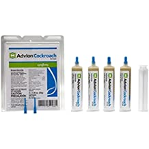 advion Cockroach Gel Bait, 4-syringes 1.06 oz each