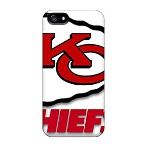 Mxcases Perfect Tpu Case For Iphone 5/5s/ Anti-scratch Protector Case (kansas City Chiefs)