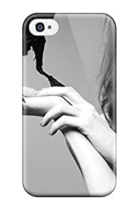 Case Cover Karen With Crow/ Fashionable Case For Iphone 4/4s
