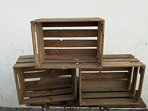 Cajas de madera, frutas 50 * 35 * 30: Amazon.es: Handmade
