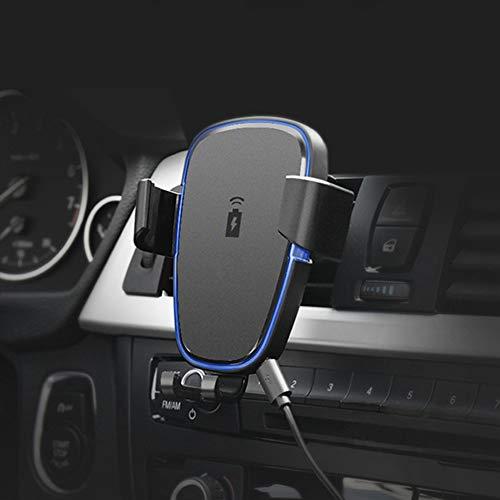 XuBa - Cargador inalámbrico para Smartphone (Carga inalámbrica QC 3.0, rotación de 180 Grados), diseño Universal, Air...