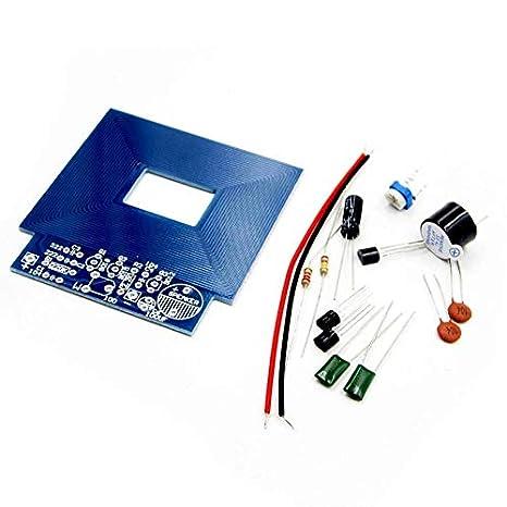 8Eninise Detector de Metales Simple Localizador de Metales Producción electrónica DC 3V - 5V DIY Kit