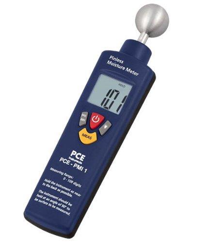 PCE-PMI 1 Feuchtemessgerät / Feuchtemesser / Materialfeuchtemesser / Material-Feuchtemessgerät zur Feuchte-Messungen von Beton, Holz, Putz, Mörtel usw.