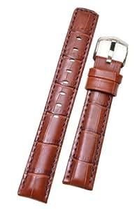 HIRSCH Active 02528070-2-24 - Correa para reloj, piel, color marrón