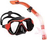 Newmind Dry Snorkel Set Snorkeling Gear Diving Equipment Dive Mask Snorkel Goggles Mask Scuba Diving Freedivin
