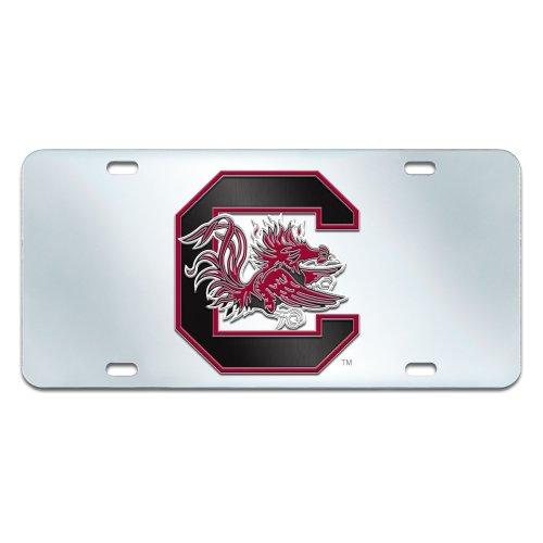 FANMATS NCAA University of South Carolina Gamecocks Plastic License Plate (South Carolina Gamecocks Auto)