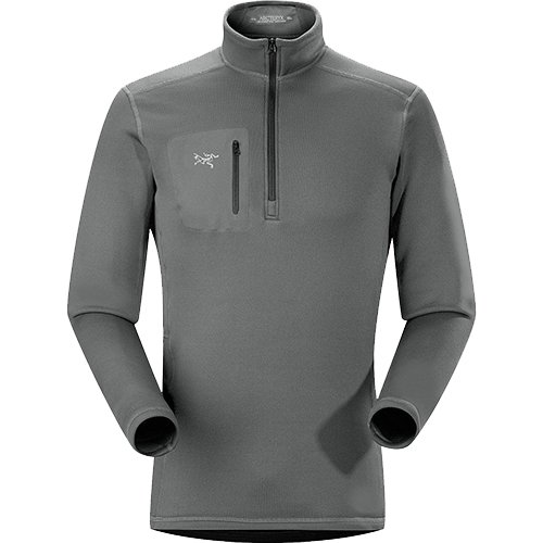 Arc'teryx Rho AR Zip Neck - Men's Iron Anvil Medium