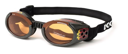DOGGLES ★ RACING FLAMES ILS SUNGLASSES ★ UV PROTECTIVE EYEWEAR ★ ALL SIZES (Small) by Doggles