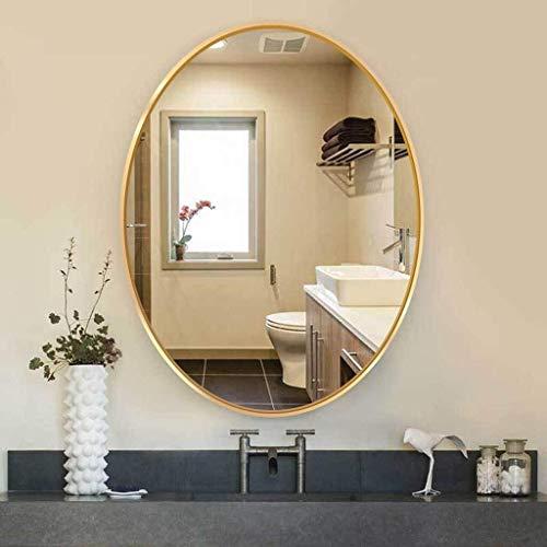 600x800mm OVA Wall Mount Bathroom Mirror HD Imaging Hanging Vanity Makeup Mirror -