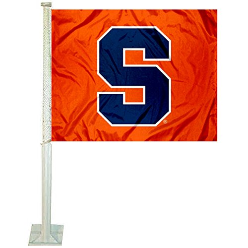 College Flags and Banners Co. Syracuse Orange Car Flag by College Flags and Banners Co.