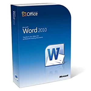 Microsoft Word 2010 (2 PC / 1 User) [OLD VERSION]