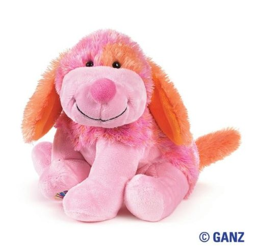 - Webkinz Pink Punch Cheeky Dog with Trading Cards