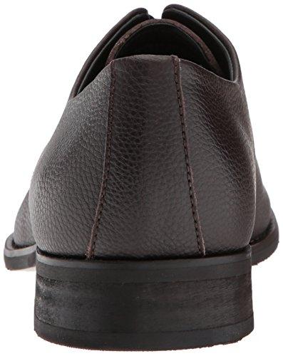 Calvin Klein Mens Ramses Burrattato Pelle Oxford Marrone