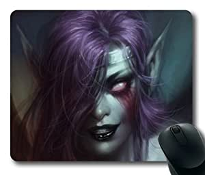 Customizablestyle League of Legends Morgana-1 Mousepad, Customized Rectangle DIY Mouse Pad