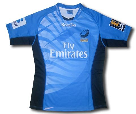 Western Force home shirt 12-13 rugby (Home Shirt Rugby Australia)