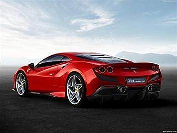 Amazon De Cars Print Posters Ferrari F8 Tributo 2020 Poster 46 X 61 Cm Ferrari F8 Tributo 2020