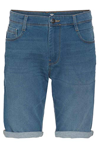 Para 10281 Hose mid Cortos Jeans Stone Denim Tailor Wash Azul Hombre nos Pantalones Josh Tom aq06FRy