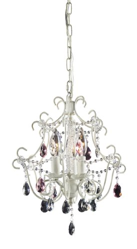 Elk 4041/3 3-Light Chandelier in Antique White ()
