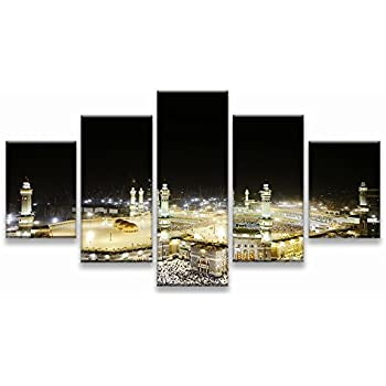 Mosque Modern Islamic Muslim Wall Art Canvas Prints Art Home Decor For  Living Room Pictures Pictures