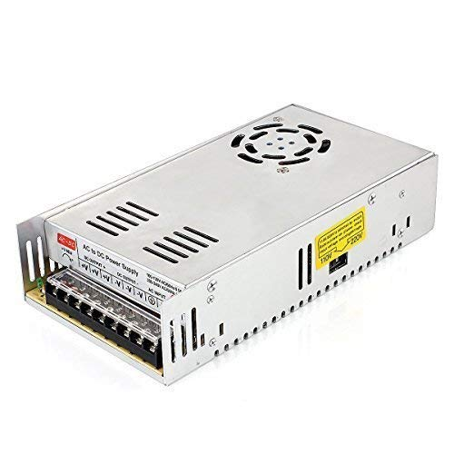 YI MEI DA Switching Power Supply12V 40A 500W Power Adapter Driver Transformers 220V 110V AC SMPS for CCTV, Radio, Computer Project Led Strip Modules Light (S-500W-12V)