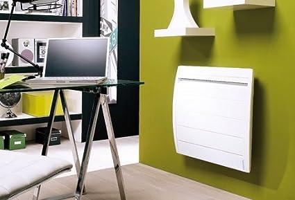 Atlantic-Radiador eléctrico de tecnología nirvana, color blanco