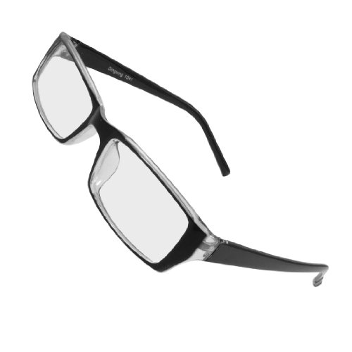 uxcell Plastic Rectangle Shaped Glasses