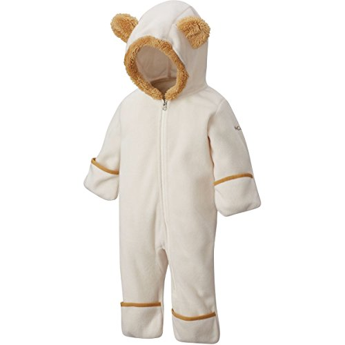 Pink Snowsuit - Columbia Kids Unisex Tiny Bear¿ II Bunting (Infant) Chalk/Lion 18-24 Months