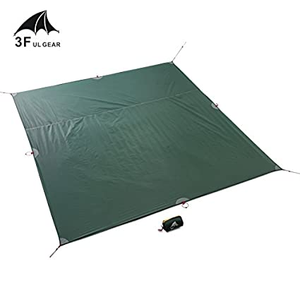 3F UL GEAR Tent Floor Saver Reinforced Multi-Purpose Tarp tent footprint camping beach picnic