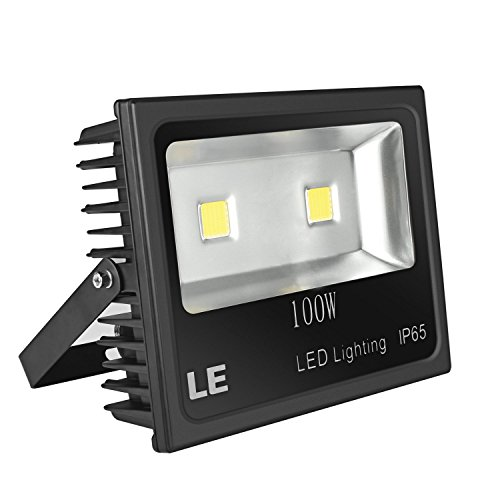 LE 100W Super Bright Outdoor LED Flood Lights, 250W HPS ...