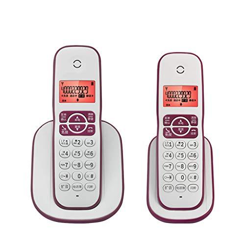LPYMX Teléfono inalámbrico, máquina única, máquina Madre, teléfono, teléfono, Oficina, Amplificador de Audio para el...