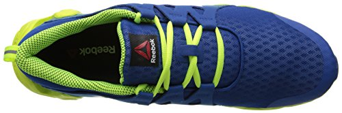 outlet order Reebok Men's Zigtech Big and Quick Running Shoe Impact Blue/Solar Yellow/Team Dark Royal professional for sale best seller for sale free shipping official site outlet 100% authentic ZtdyS9r