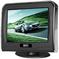 Boyo VTM3601 3.5-Inch Rear View Monitor 2 Inputs