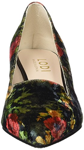 LODI Celaya-Tgo, Chaussons Montants Femme Multicolore (Melvet Negro)