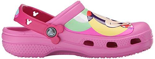 33 Bambine Clog K Cc Crocs A Rosa papi Ragazze Minnie Punta Sandali 34 E Colorblock Chiusa H66azqw