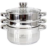 Olla Vaporera Cocina al vapor olla a acero inoxidable meyerhoff Inducción 22 cm – XL