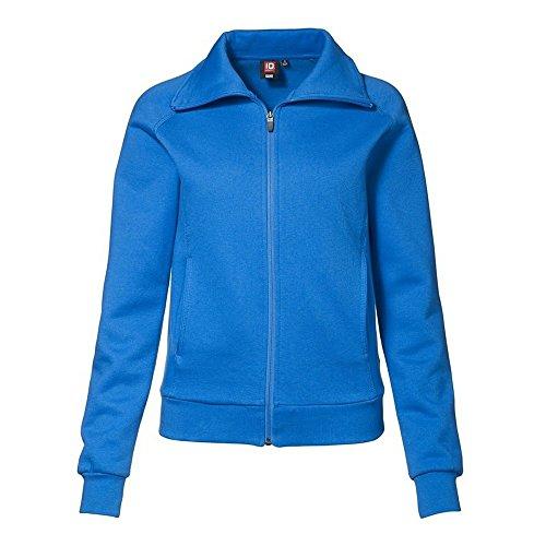 Azul para señora Ajustado con Marino Completa Mujer Chaquetilla Cremallera Medio ID pxzaa