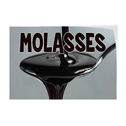 Molasses #1 Indoor Store Sign Vinyl Decal Sticker 8