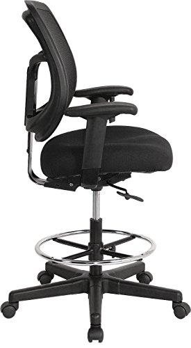 Eurotech Seating Apollo Dft9800 Drafting Stool Black