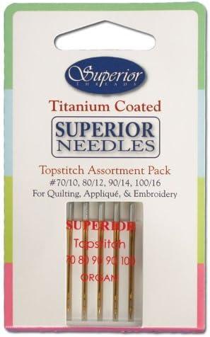 Superior Threads Superior Topstitch Needles 90//14