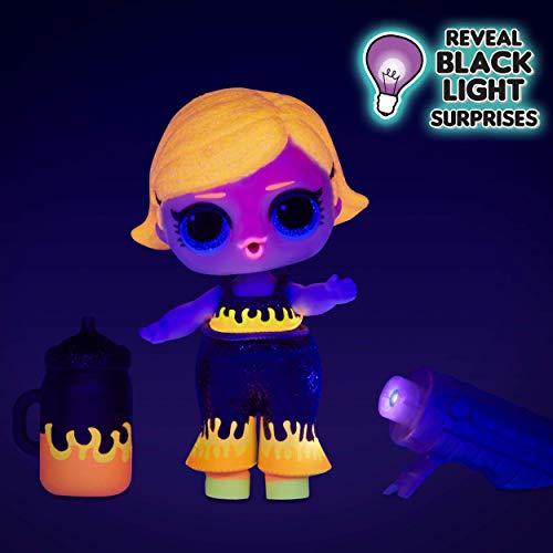 LOL Surprise Muñecas de Moda Coleccionables , Con 8 Sorpresas, Modas y Accesorios , Incluye Revelado de Luz Negra…