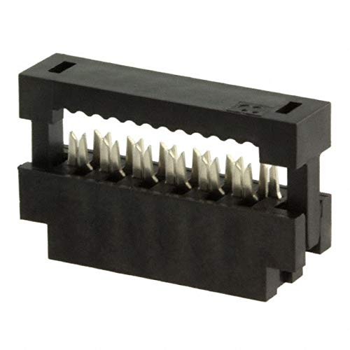CONN RCPT 12POS IDC 28AWG GOLD, (Pack of 100)