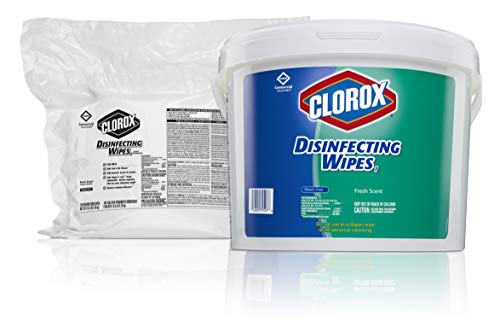 Clorox  10044600314287 Commercial Solutions Disinfecting Wipes Fresh Scent  700 Wipes 2 RefillsCase