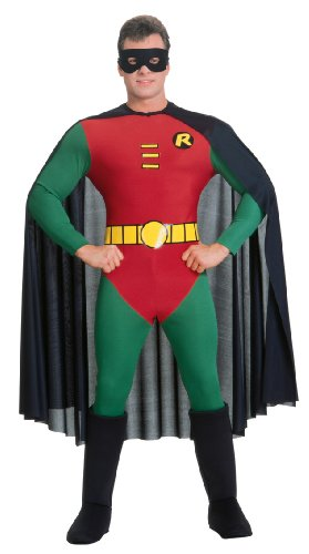 [Deluxe Robin Costume - Medium - Chest Size 42] (Male Adult Costumes Ideas)