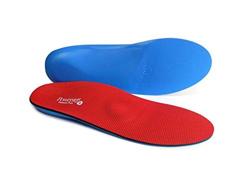 Powerstep Pinnacle Plus Met Insoles Sandal, Red/Blue, Men's