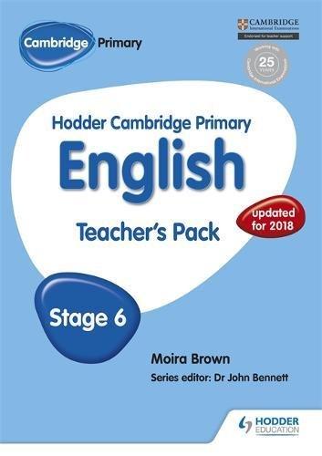 Hodder Cambridge Primary English: Teacher's Pack Stage 6 by Hodder Education