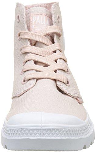 Palladium Pampa Hautes K74 Whip Baskets Blanc Hi Femme Mixte Rose Peach wgPOnw