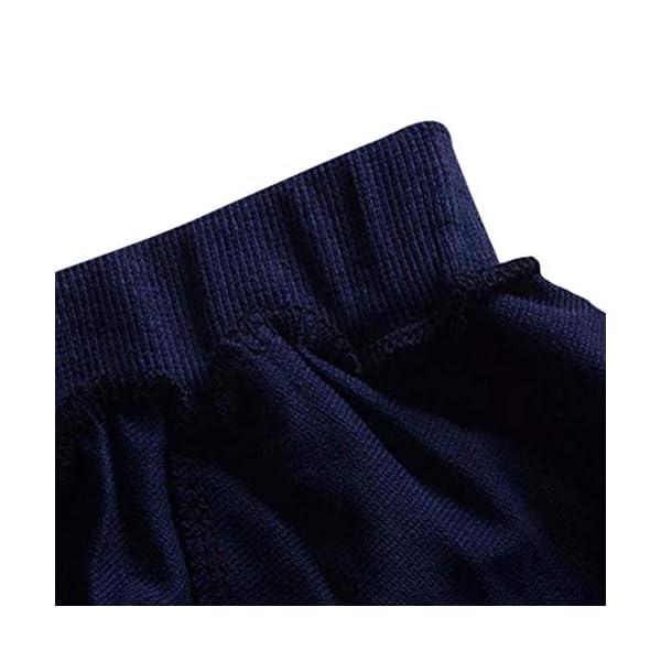 Wongfon Ragazzi Abbigliamento Sportivo Abbigliamento, Ragazzi T-Shirt a Righe con Cappuccio Manica Lunga Tute Pullover… 4