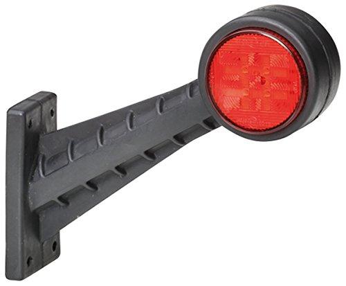 HELLA 2XS 357 004-041 Umrissleuchte VALUEFIT seitlicher Anbau rechts senkrecht 60/° gewinkelte LED